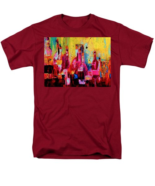 Men's T-Shirt  (Regular Fit) featuring the painting The Cabaret by Lisa Kaiser