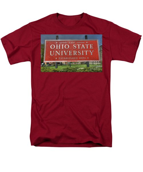 The Ohio State University Men's T-Shirt  (Regular Fit) by David Bearden