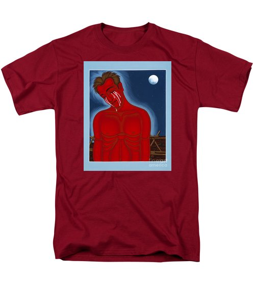 The Passion Of Matthew Shepard 096 Men's T-Shirt  (Regular Fit) by William Hart McNichols