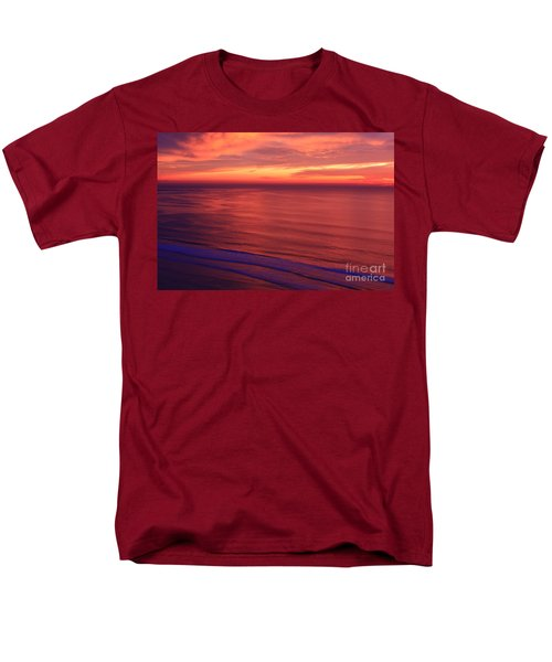 Men's T-Shirt  (Regular Fit) featuring the photograph Torrey Pines Twilight by John F Tsumas