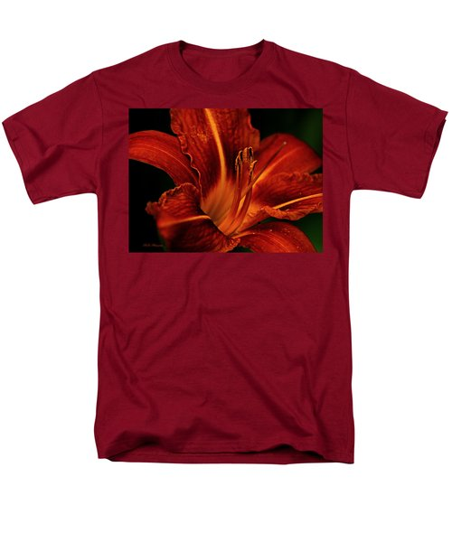 Up Close And Personal Men's T-Shirt  (Regular Fit) by Jeanette C Landstrom