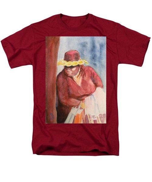 Waiting 1 Men's T-Shirt  (Regular Fit) by Yoshiko Mishina