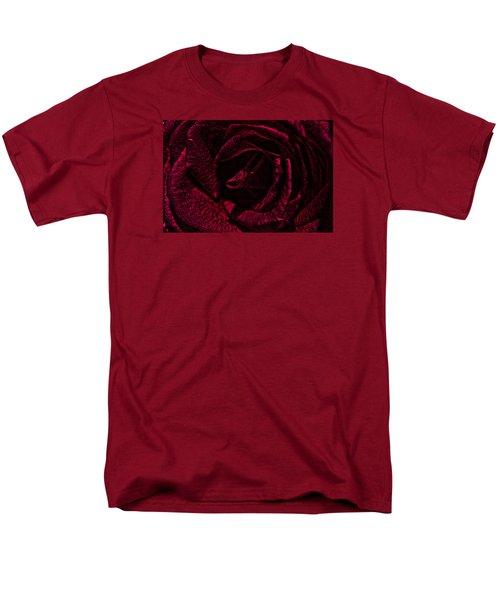 Wild Rose Men's T-Shirt  (Regular Fit) by Kathy Churchman