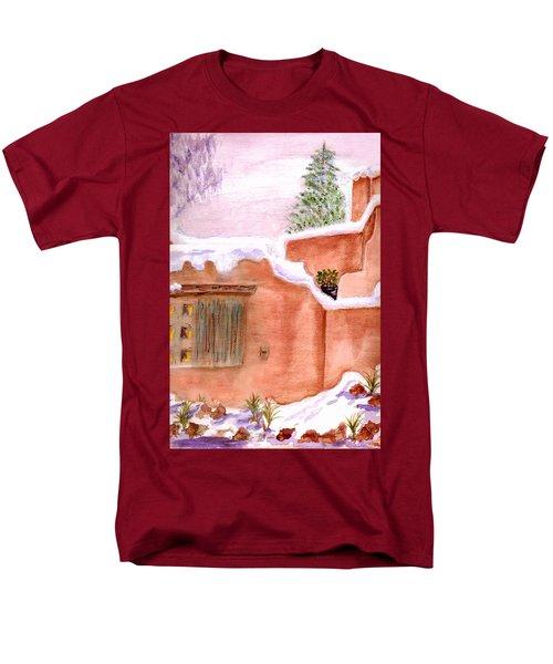Winter Adobe Men's T-Shirt  (Regular Fit) by Paula Ayers