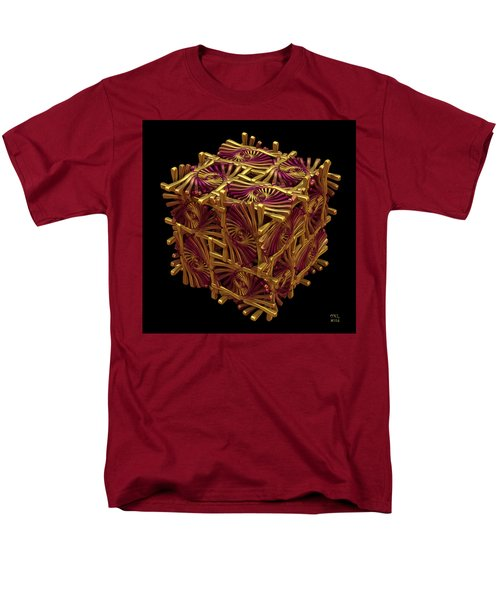 Men's T-Shirt  (Regular Fit) featuring the digital art Xd Box by Manny Lorenzo