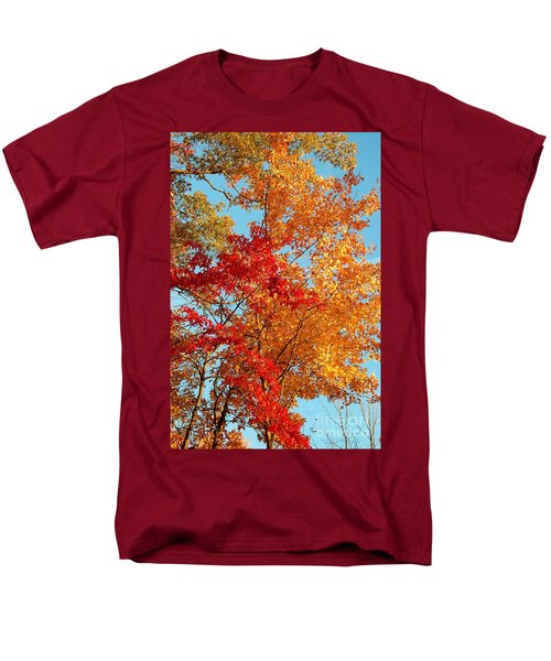 Men's T-Shirt  (Regular Fit) featuring the photograph Yellow And Red by Patrick Shupert