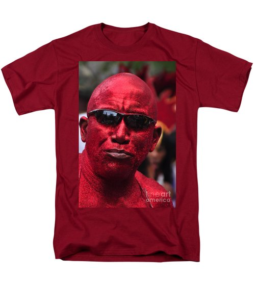 West Indian Day Parade Brooklyn Ny Men's T-Shirt  (Regular Fit) by Mark Gilman