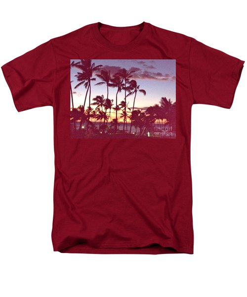 Mahalo For This Day Men's T-Shirt  (Regular Fit) by Beth Saffer