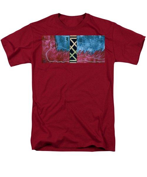 Measure Of A Man Men's T-Shirt  (Regular Fit) by Lisa Brandel