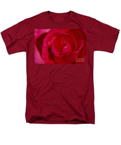 Red Rose Men's T-Shirt  (Regular Fit) by Mark Gilman