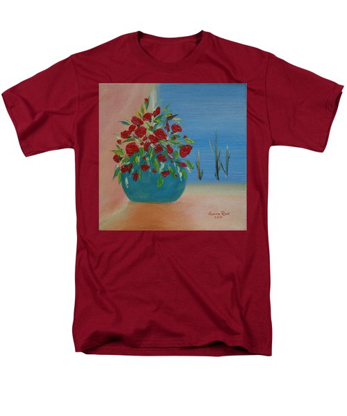 Men's T-Shirt  (Regular Fit) featuring the painting Southwestern 1 by Judith Rhue