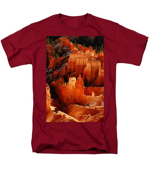 Men's T-Shirt  (Regular Fit) featuring the photograph Bryce Canyon by Harry Spitz