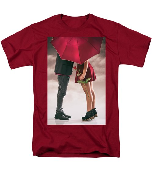 Men's T-Shirt  (Regular Fit) featuring the photograph Couple Of Sweethearts by Carlos Caetano