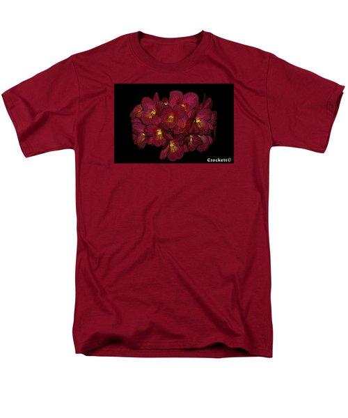 Orchid Floral Arrangement Men's T-Shirt  (Regular Fit) by Gary Crockett
