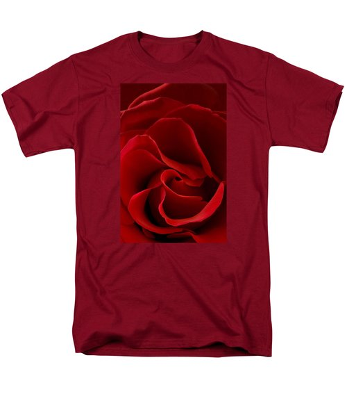 Red Rose Vi Men's T-Shirt  (Regular Fit) by George Robinson