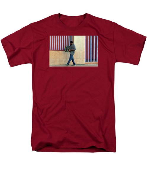 Men's T-Shirt  (Regular Fit) featuring the photograph Stripes by Joe Jake Pratt