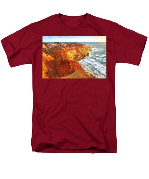 Men's T-Shirt  (Regular Fit) featuring the photograph Blanche Point by Bill  Robinson