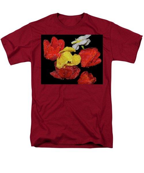 Men's T-Shirt  (Regular Fit) featuring the photograph Spring Flower by Elvira Ladocki