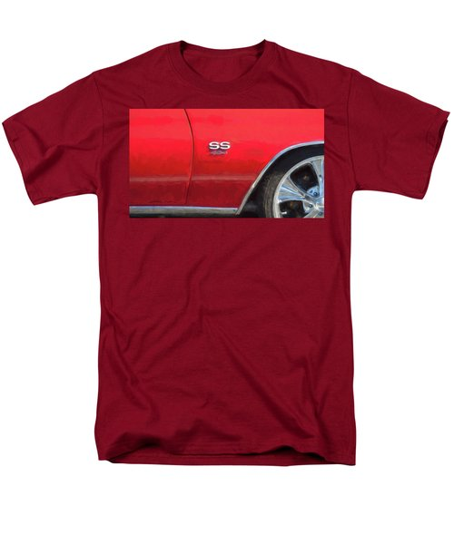 1970 Chevy Chevelle 454 Ss  Men's T-Shirt  (Regular Fit) by Rich Franco