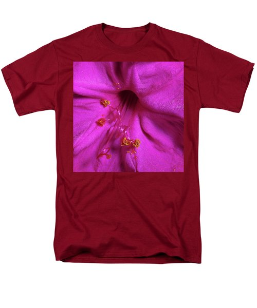 Men's T-Shirt  (Regular Fit) featuring the photograph 4 O'clock Bloom by Richard Rizzo
