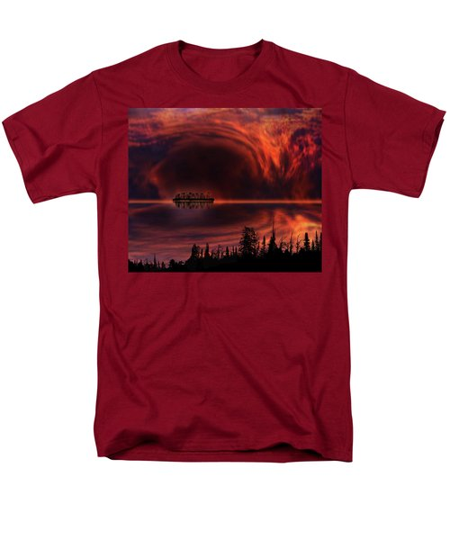 Men's T-Shirt  (Regular Fit) featuring the photograph 4385 by Peter Holme III