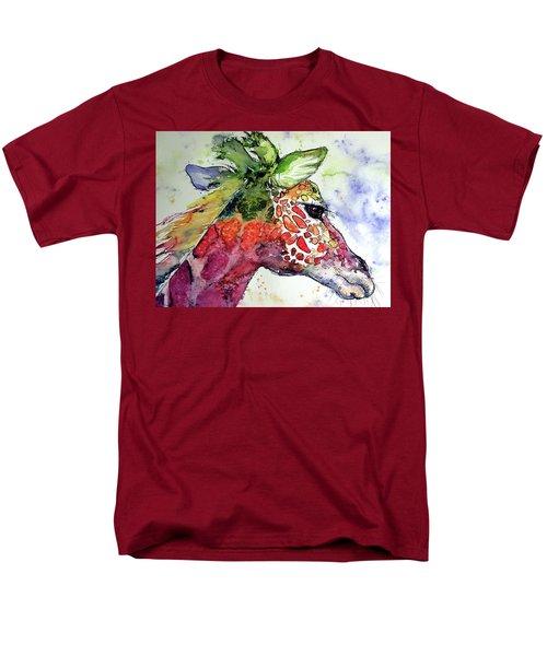 Giraffe  Men's T-Shirt  (Regular Fit) by Kovacs Anna Brigitta