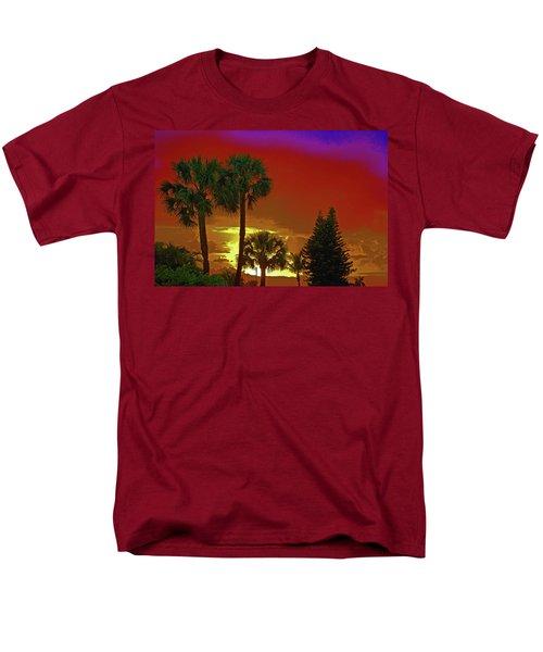 Men's T-Shirt  (Regular Fit) featuring the digital art 7- Holiday by Joseph Keane