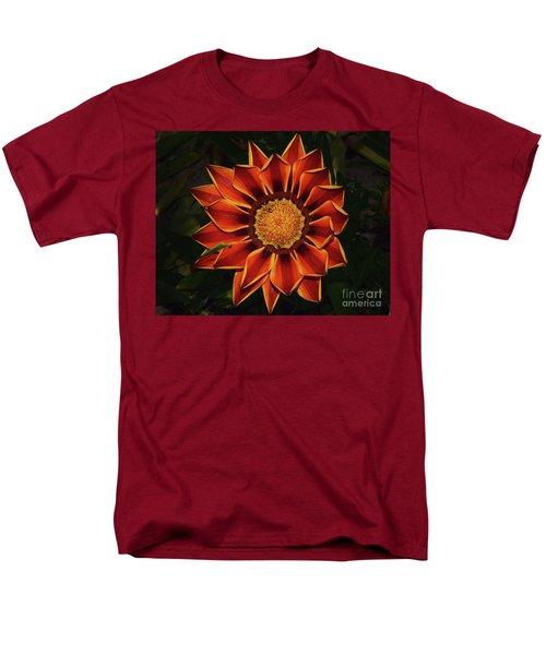 Men's T-Shirt  (Regular Fit) featuring the photograph Beautiful Gazania by Elvira Ladocki