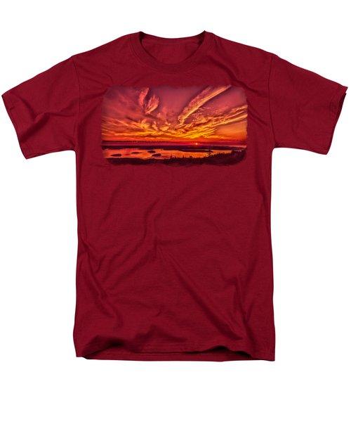 A New Maine Day Men's T-Shirt  (Regular Fit) by John M Bailey