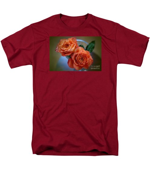 Men's T-Shirt  (Regular Fit) featuring the photograph A Peach Delight by Diana Mary Sharpton