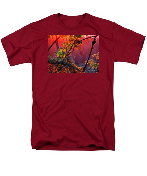 A Season's  Sunset Dusting Men's T-Shirt  (Regular Fit) by Natalie Ortiz