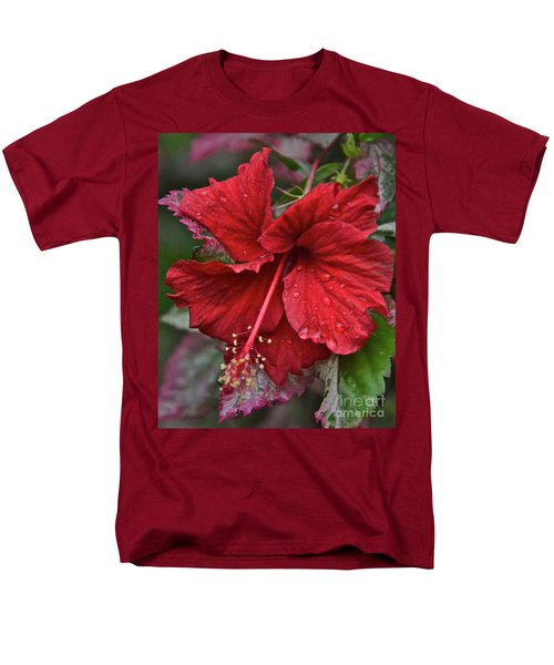 Men's T-Shirt  (Regular Fit) featuring the photograph After The Rain by Carol  Bradley