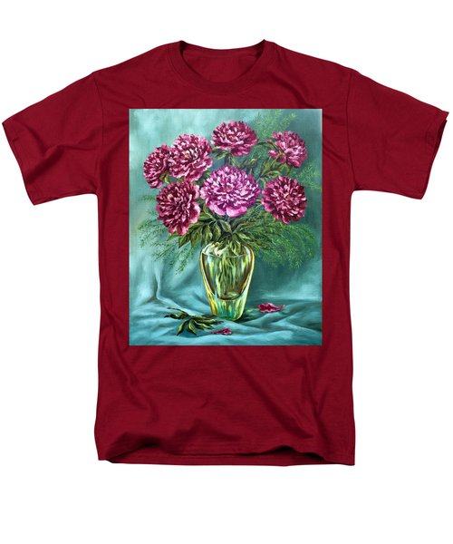 Men's T-Shirt  (Regular Fit) featuring the painting All Things Beautiful by Karen Showell