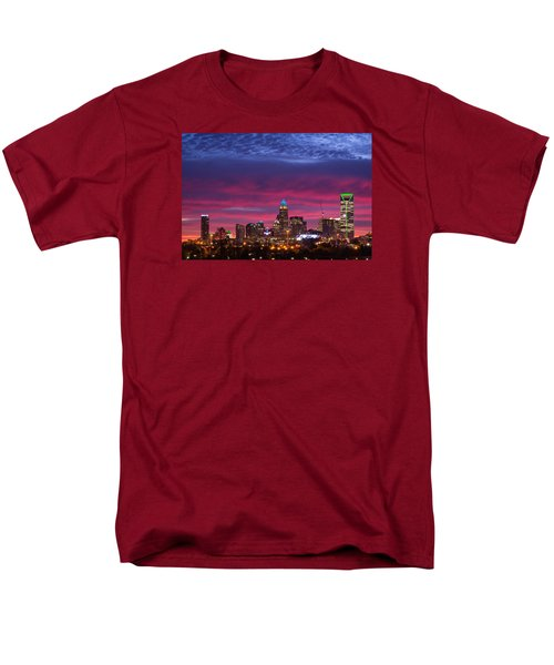 Men's T-Shirt  (Regular Fit) featuring the photograph Amazing Colors Of Charlotte by Serge Skiba