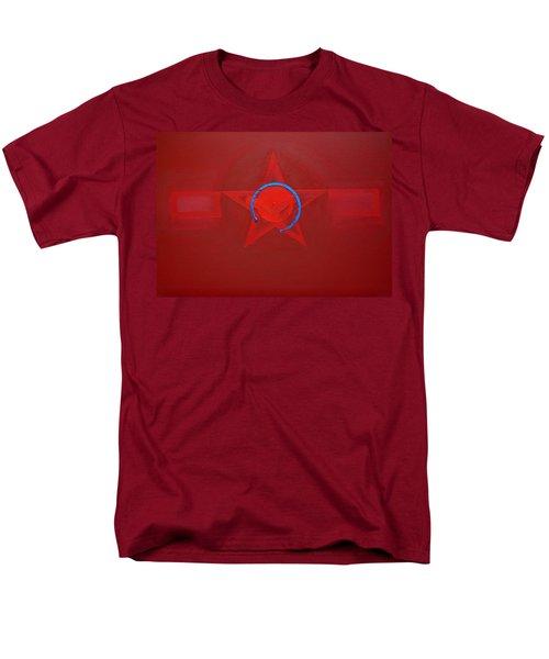 American Sky Blue Men's T-Shirt  (Regular Fit) by Charles Stuart