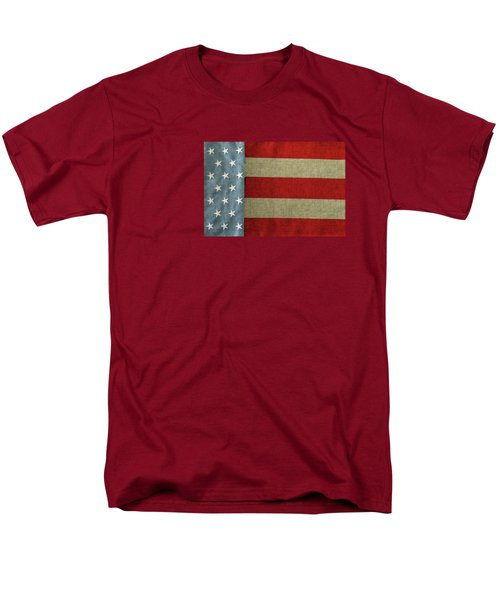 Men's T-Shirt  (Regular Fit) featuring the photograph The Flag by Tom Prendergast
