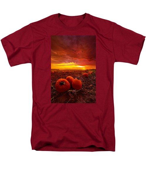 Autumn Falls Men's T-Shirt  (Regular Fit) by Phil Koch