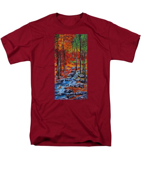 Autumn In The Air 2 Men's T-Shirt  (Regular Fit) by Mike Caitham
