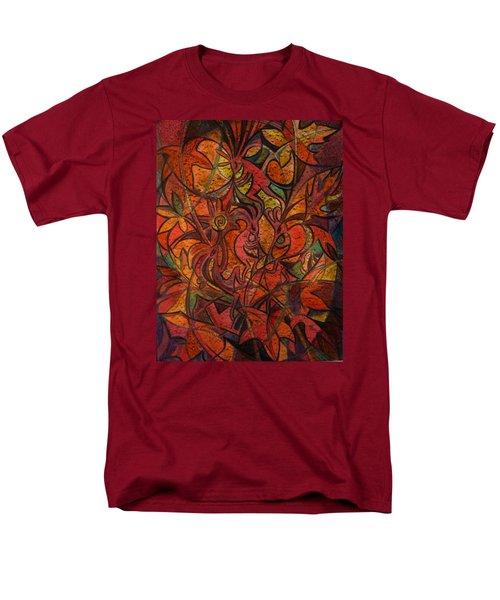 Autumn Kokopelli Men's T-Shirt  (Regular Fit)