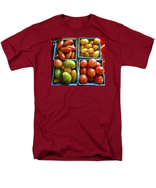 Baby Tomato Medley Men's T-Shirt  (Regular Fit) by Dee Flouton