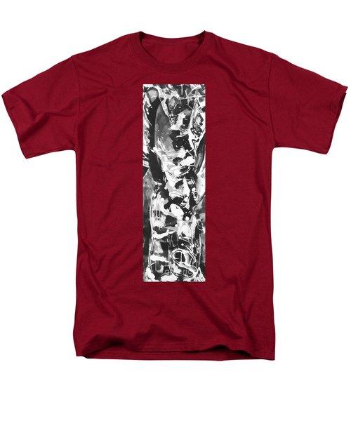 Men's T-Shirt  (Regular Fit) featuring the painting Barber by Carol Rashawnna Williams