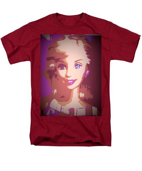 Barbie Hip To Be Square Men's T-Shirt  (Regular Fit) by Karen J Shine