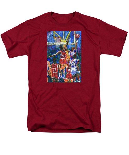 Basketball 1970s Men's T-Shirt  (Regular Fit) by Walter Fahmy