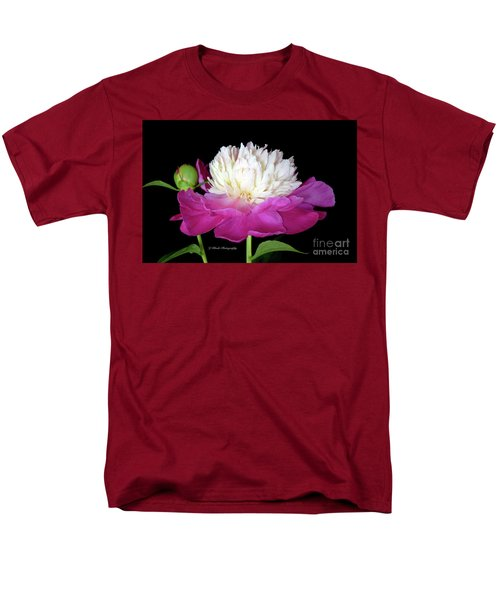 Beautiful Fancy Peony Men's T-Shirt  (Regular Fit) by Jeannie Rhode