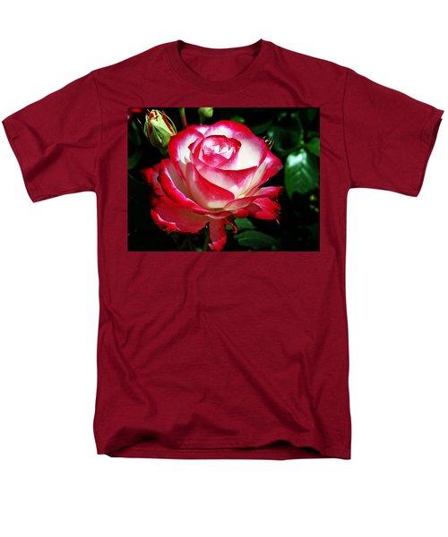 Men's T-Shirt  (Regular Fit) featuring the photograph Beauty Rose by Joseph Frank Baraba