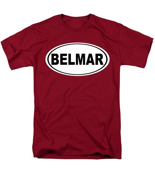 Men's T-Shirt  (Regular Fit) featuring the photograph Belmar New Jersey Home Pride by Keith Webber Jr