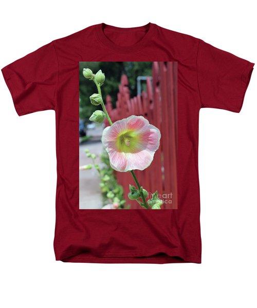 Beyond The Garden Fence Men's T-Shirt  (Regular Fit) by Alycia Christine