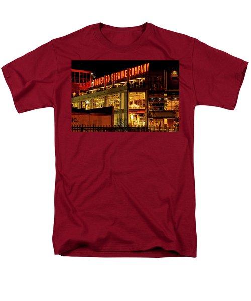 Boulevard Beer Sign Men's T-Shirt  (Regular Fit) by Steven Bateson