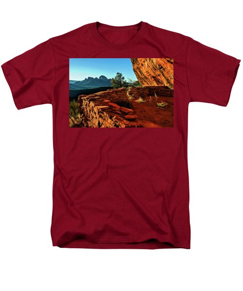 Boynton II 04-008 Men's T-Shirt  (Regular Fit) by Scott McAllister