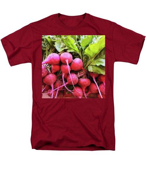 Bright Fresh Radish Men's T-Shirt  (Regular Fit) by GoodMood Art
